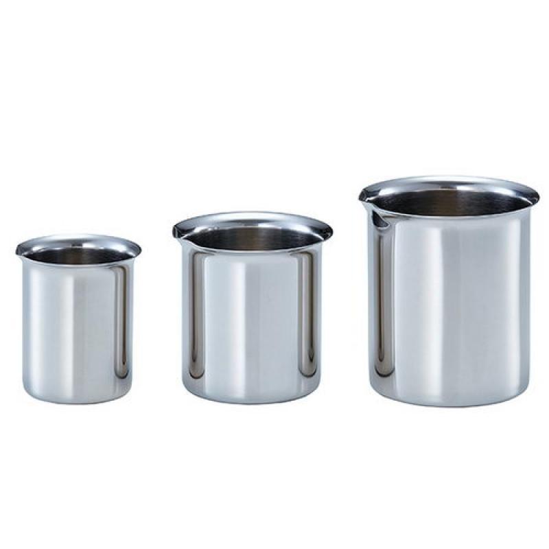 不锈钢罐/小型容器/不锈钢烧杯不锈钢烧杯(元卷辺卫生型)サニタリービーカー