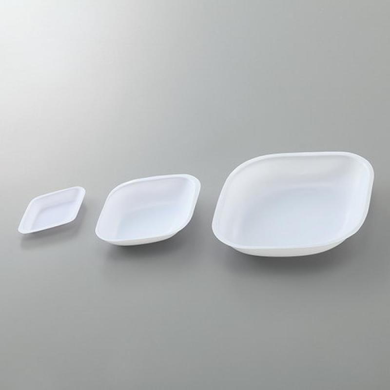 天平相关产品秤量盘(菱形)TRAY DISPOPABLE PSバランストレイ
