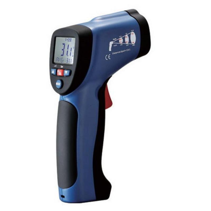 辐射温度计经济型红外线测温仪(兼备热电偶测定)TEHRMOMETER放射温度計