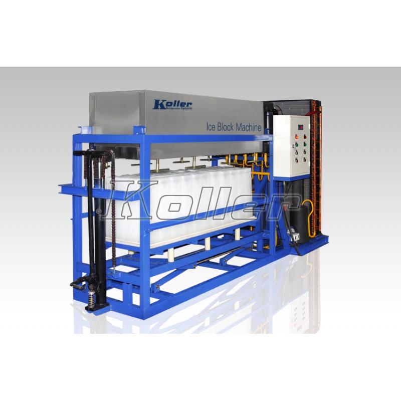 铝板直接蒸发冰砖机DK15 (风冷)