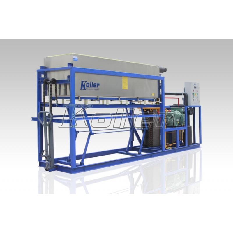 铝板直接蒸发冰砖机DK30 (风冷)