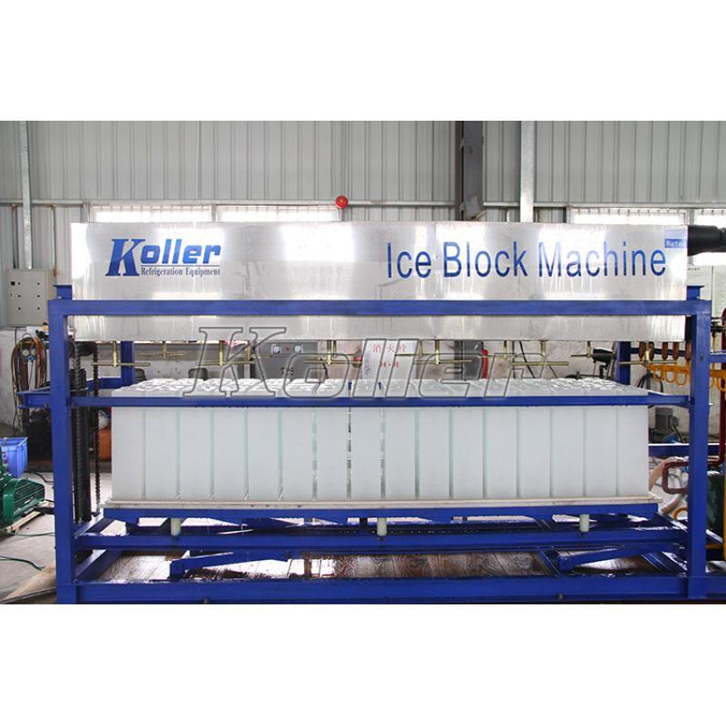 铝板直接蒸发冰砖机DK30 (水冷)