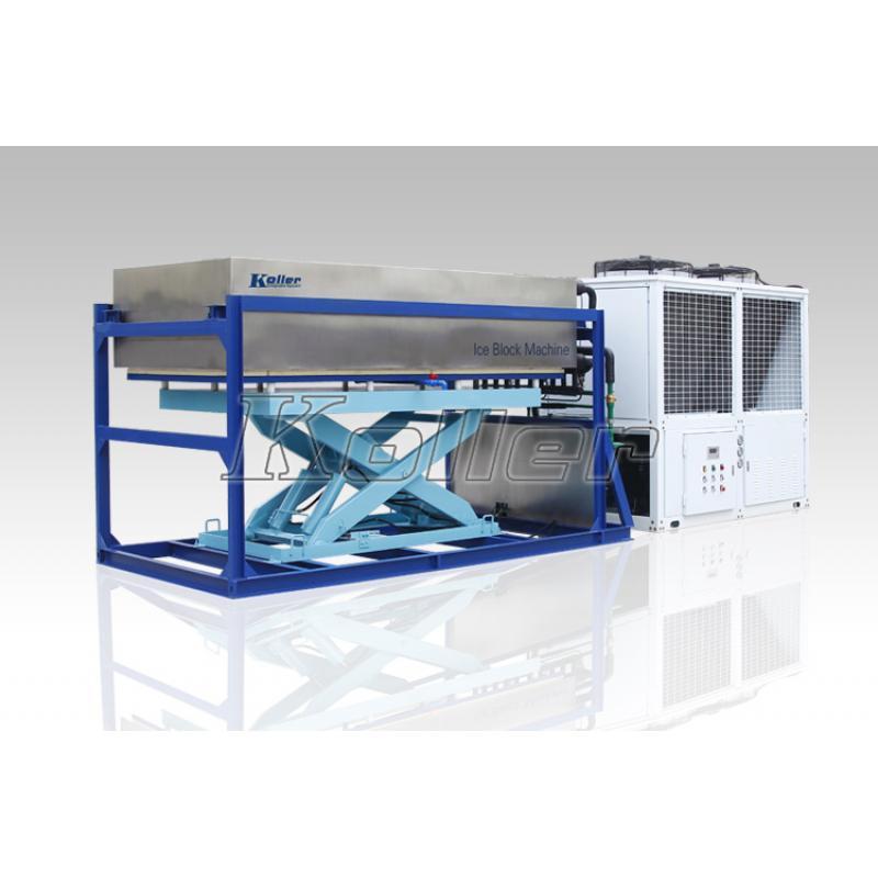 铝板直接蒸发冰砖机DK50 (风冷)