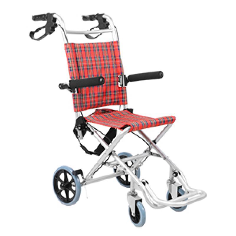 可孚逸质手动轮椅_铝合金车架
