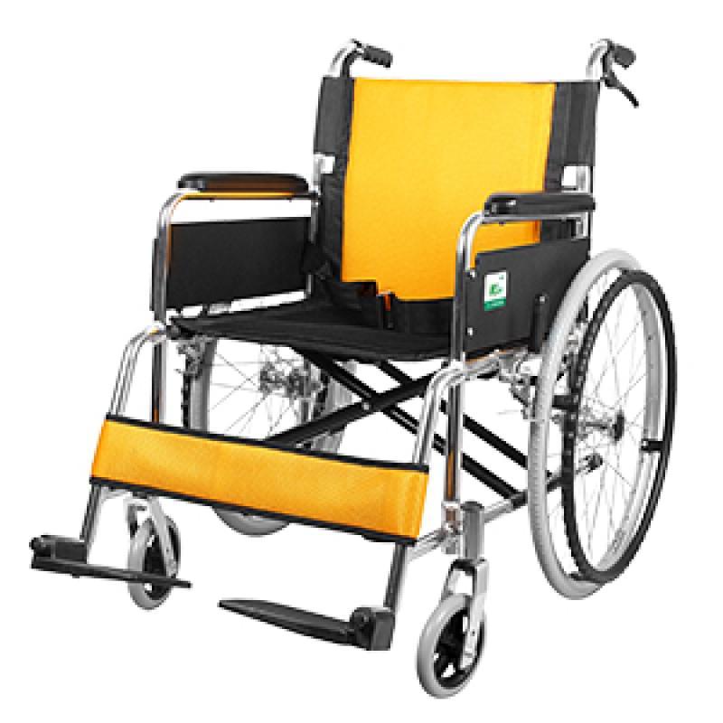 可孚逸巧轮椅_航钛铝合金