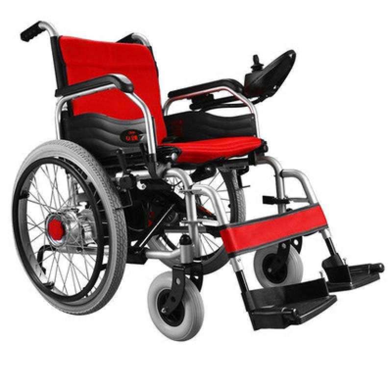 可孚逸享电动轮椅_折叠轻便铝合金