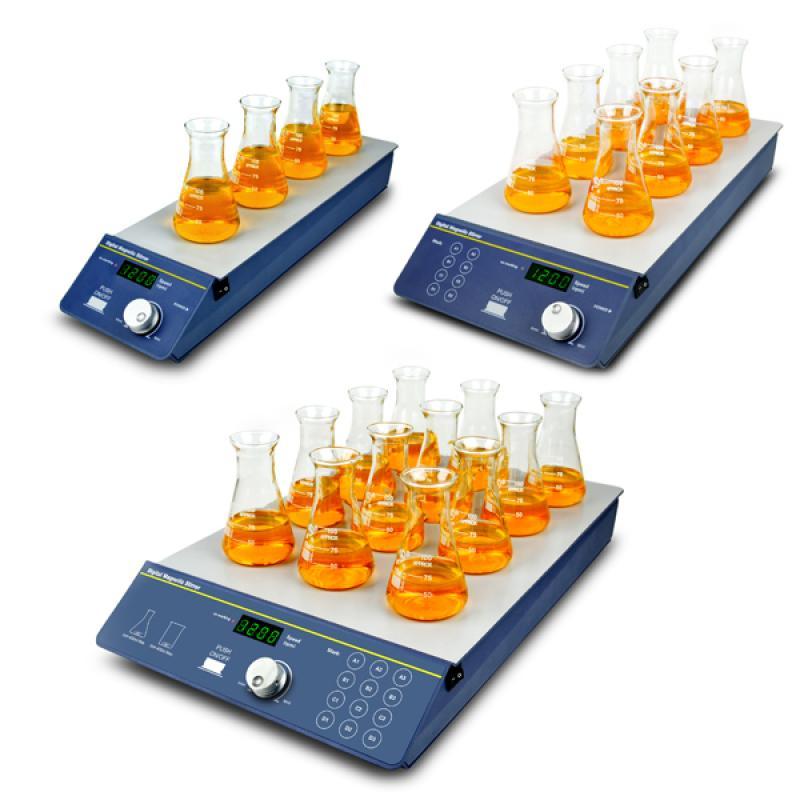 SP-100/200/300 多通道磁力搅拌器