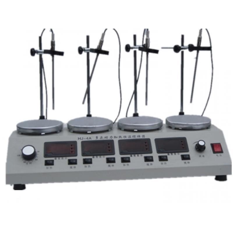 HJ-4A多头磁力加热恒温搅拌器