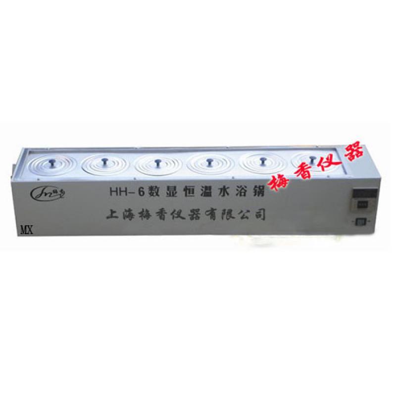 6孔数显电热恒温单列水浴槽厂家