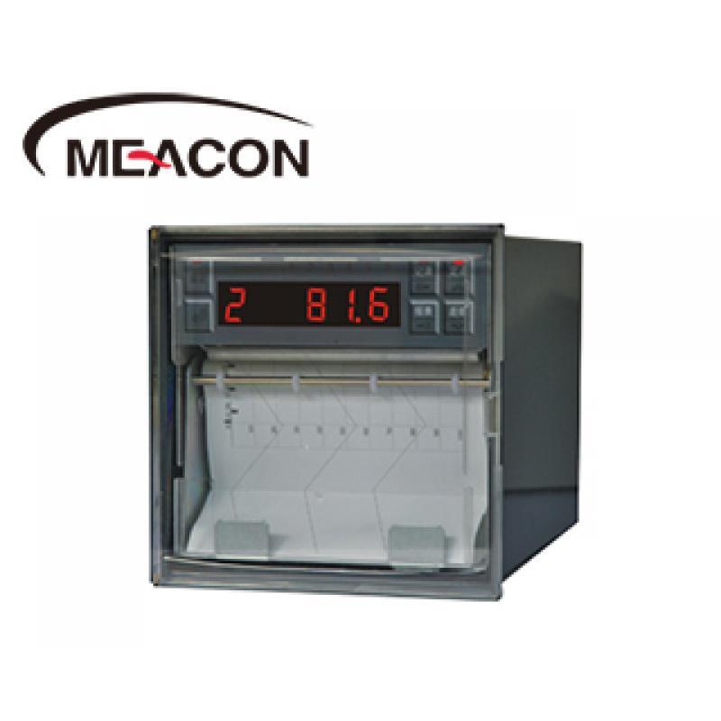美控R1000 1-8路 数码管 打印有纸温度记录仪/测量/报警/走纸