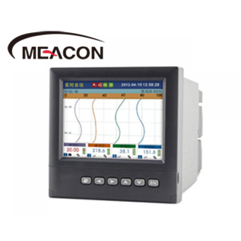 美控RX6000B 1-16路 5.6英寸 彩屏智能无纸温度记录仪/3年质保