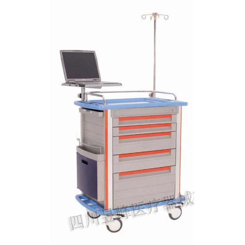 YT-043 ABS台面急救车ABS table surface emergency cart