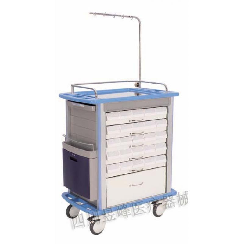 YT-042 ABS台面发药车ABS table surface drug delivery cart