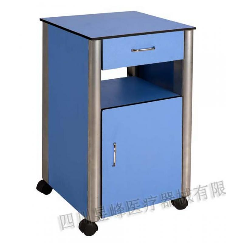 YG-015钢木床头柜Wooden steel bedside cupboard