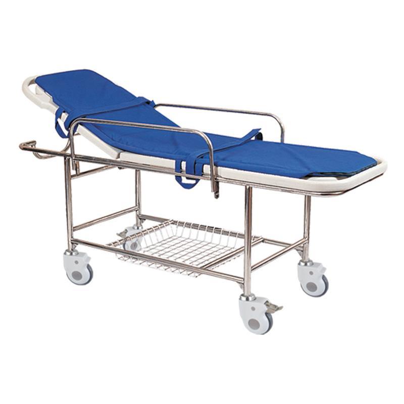 BDJ14-A塑料床板四小轮担架车
