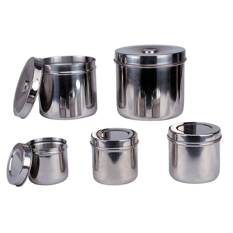 ZQ02 不锈钢药膏罐、纱布罐
