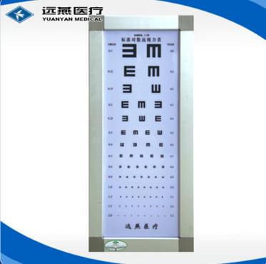 远燕 2.5米对数视力表灯箱 优质视力表灯箱