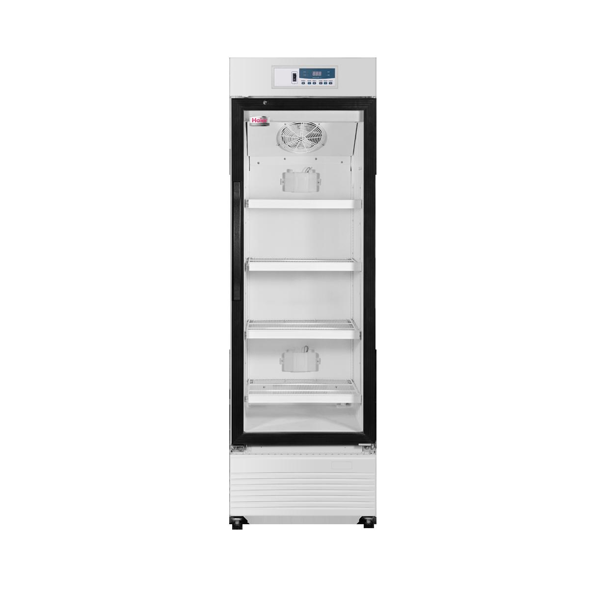 海尔2-8℃药品保存箱HYC-198/立式198L医用冷藏箱/单开门冰箱