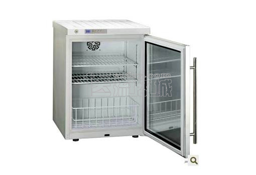 海尔2-8℃嵌入式MINI药品保存箱HYC-68/立式68L医用冷藏箱