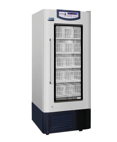 海尔4℃血液冷藏箱HXC-358/立式358L恒温冰箱/单开门恒温血库冰箱