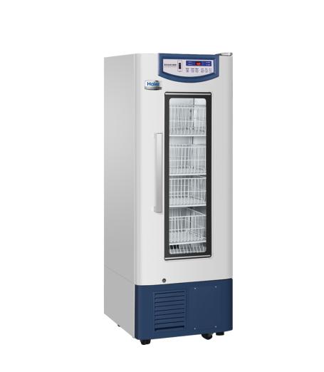 海尔4℃血液保存箱HXC-158/立式158L恒温冰箱/立式血库冰箱