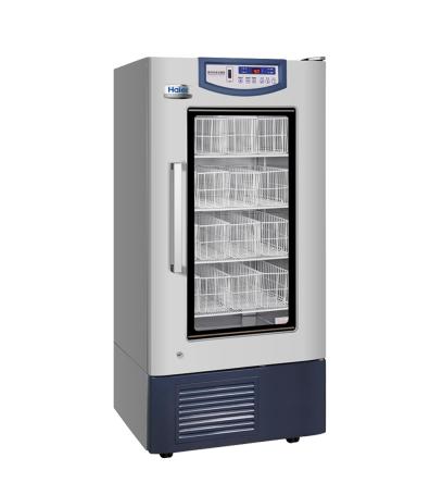 海尔4℃血液保存箱HXC-258/血库冰箱/立式258L恒温冰箱