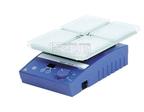 IKA MTS 2/4 digital microtiter shaker酶标板振荡器 0~1100转/分