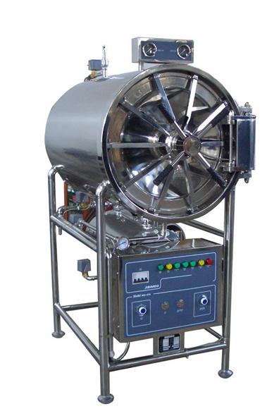 江阴滨江医疗卧式WS-150YDC卧式圆形全不锈钢打造全自动高压蒸汽灭菌器厂家批发价格