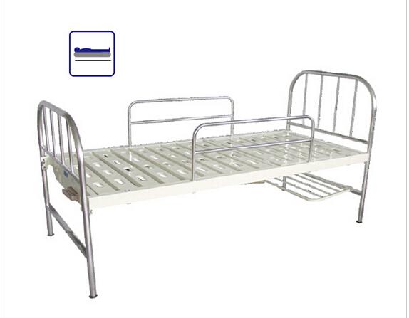 美晟BCA-102不锈钢床头平面床