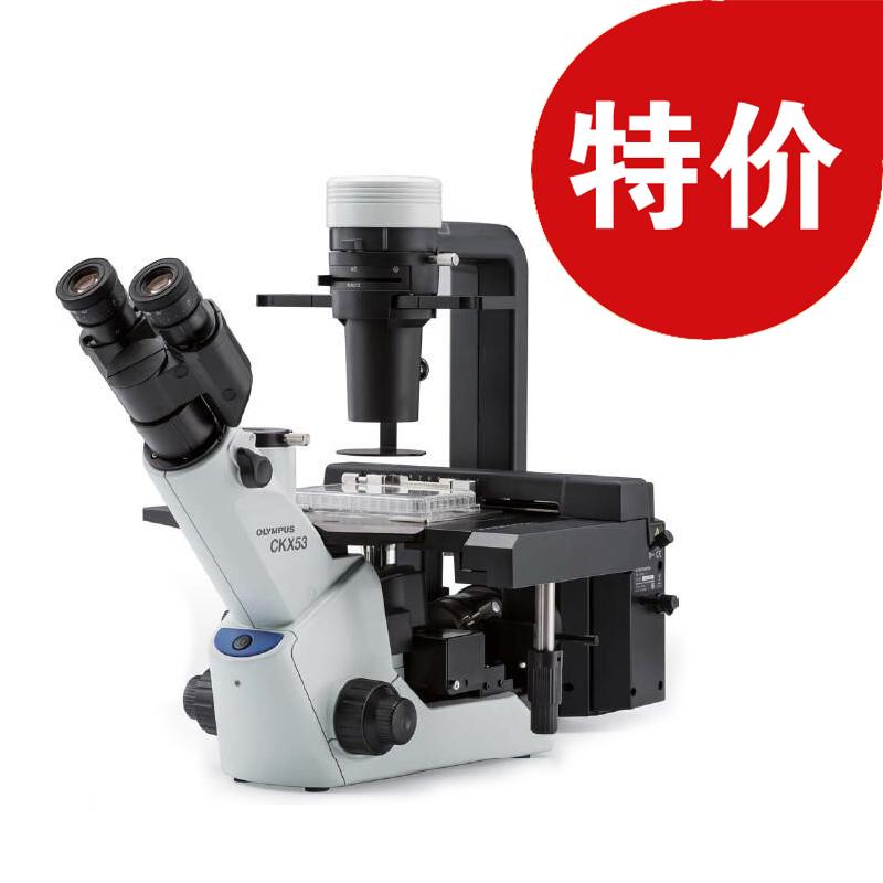 奥林巴斯CKX53倒置显微镜 三目 40-400X