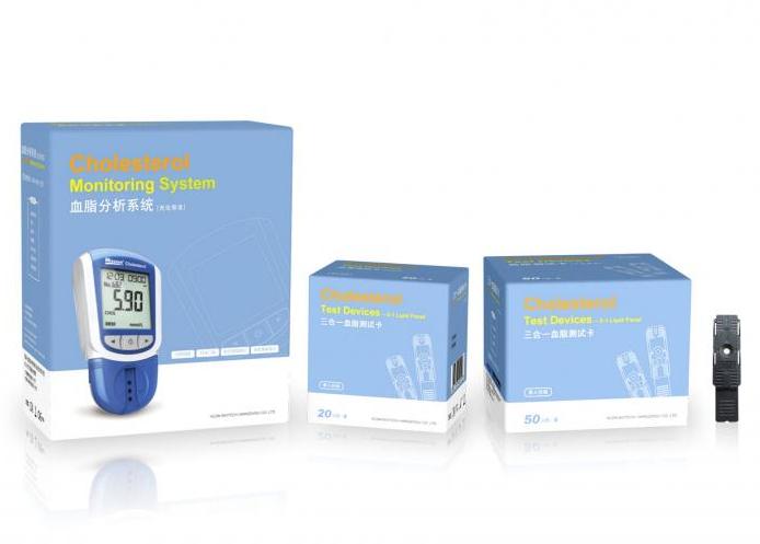 艾康 电化式血脂分析仪试纸 20人/盒