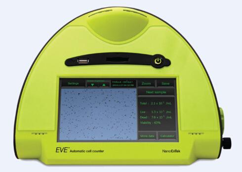 韩国EVE全自动细胞计数仪 Automated Cell Counter