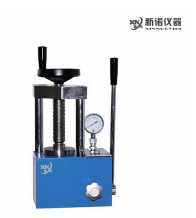 新诺 SYP-12B型手动粉末压片机 红外压片机 台式实验室压片机  2柱 12吨