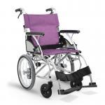日本河村轮椅BM22-45S手动轻便折叠小便携式小型老人代步车家用旅行超轻手推车