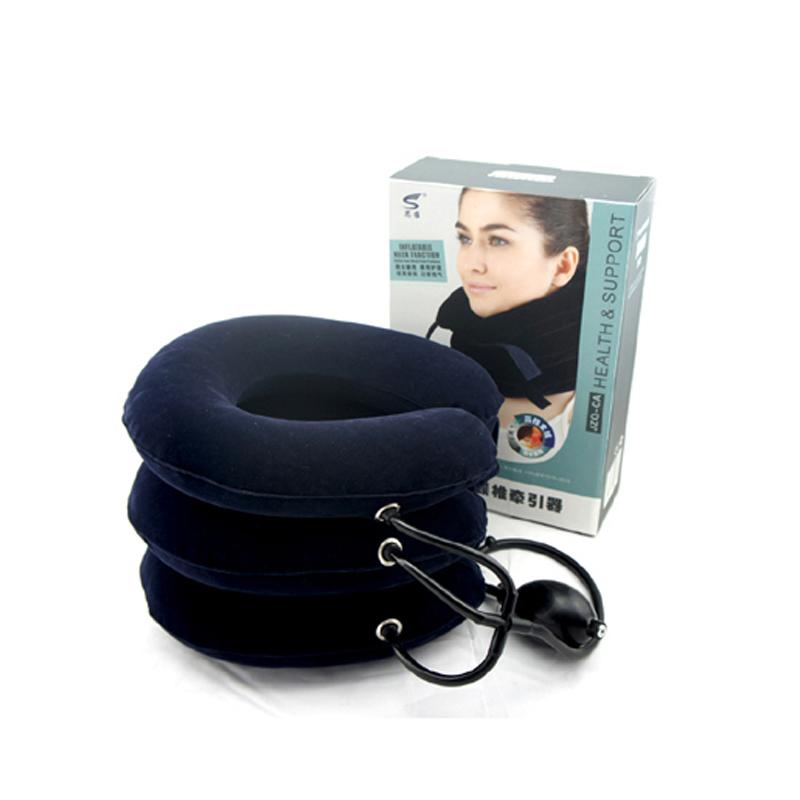 思维颈椎牵引器ZQ-CA充气颈托颈部家用气囊按摩器上班族用牵引器