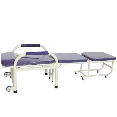 盛德 不锈钢输液椅/钢制带扶手陪护椅/可折叠医院用 四连座诊所候诊椅 医院陪护床