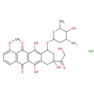 上海麦克林 盐酸阿霉素(货号D807083-100mg)