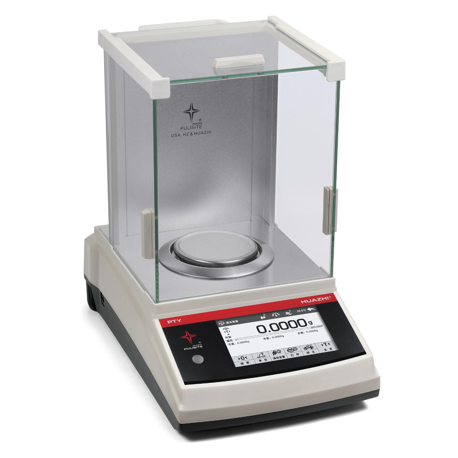 华志 PTY先进型分析天平0.1mg(万分之一克)最大秤量  120g~500g实验级(1)