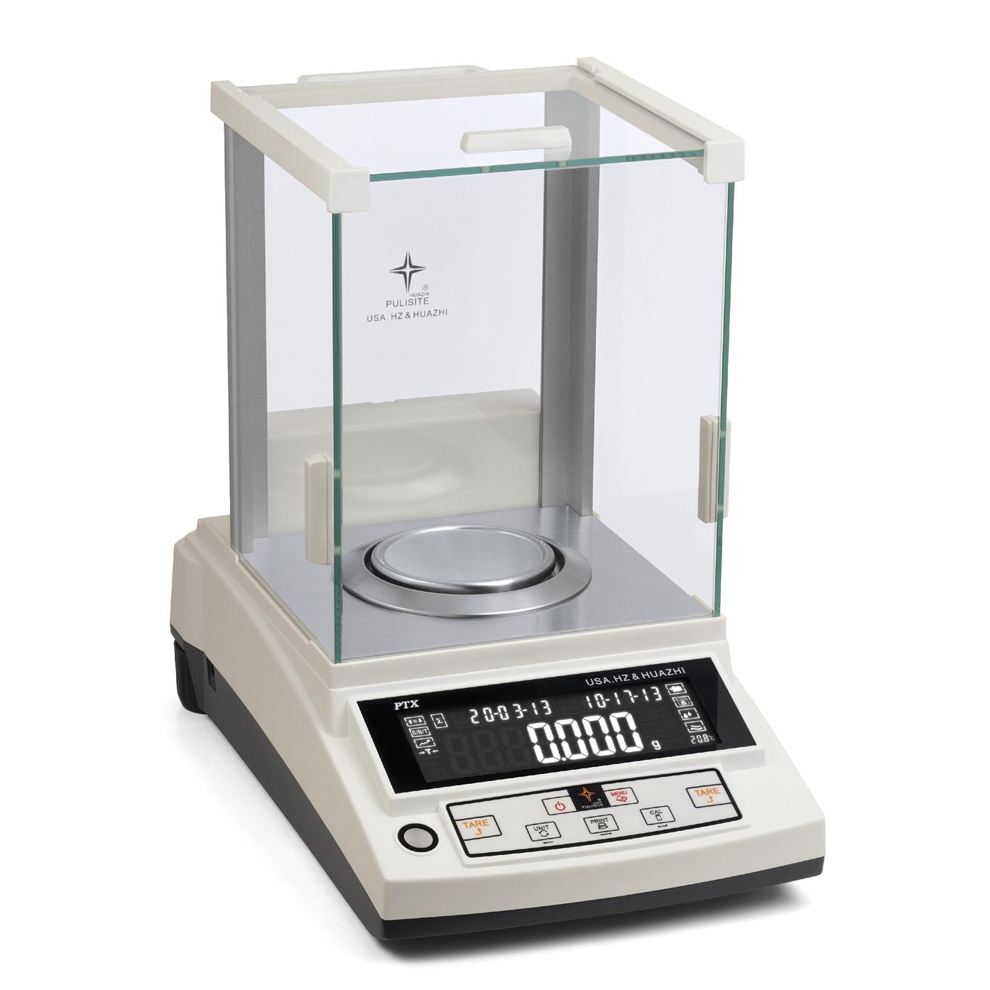 华志 专业型精密天平0.001g(千分之一克)PTX-JA(