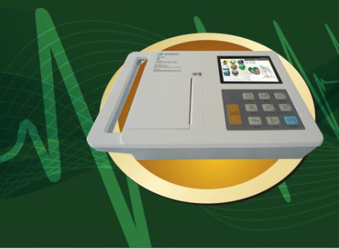 宏邦 6 导自动分析心电图机HB1006