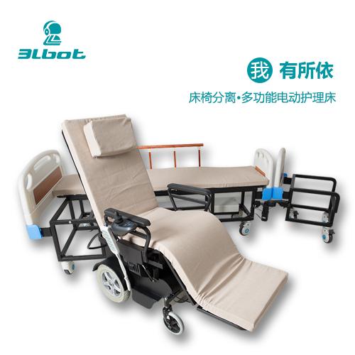 三联机器人智能款多功能护理床SLR-HLC-A05