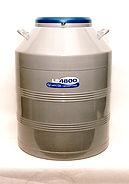 泰来华顿 实验室用容器 (61 升) 带 (6) 组冻存架
