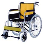 弘康铝合金老人轮椅 034-喷涂轮椅