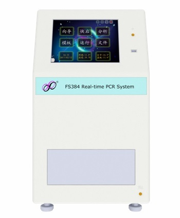 福生 FS384 384孔实时荧光定量PCR仪 384孔高通量,6个荧光通道,特异性强,精确定量