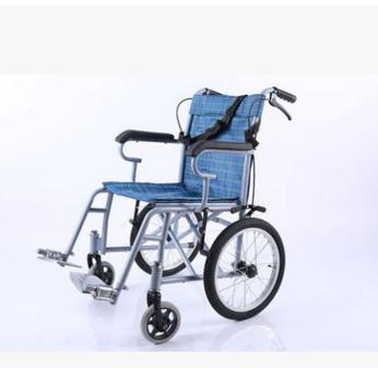 晨文洪业 普通喷涂软座四刹车轻型车手动轮椅
