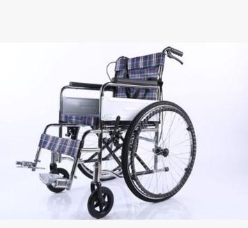 晨文洪业 普通电镀座四刹车三型手动轮椅