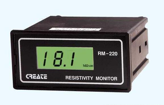 晶磁/盛磁RM-220电阻率监控仪测量范围: 0 ~ 18.25M Ω · cm
