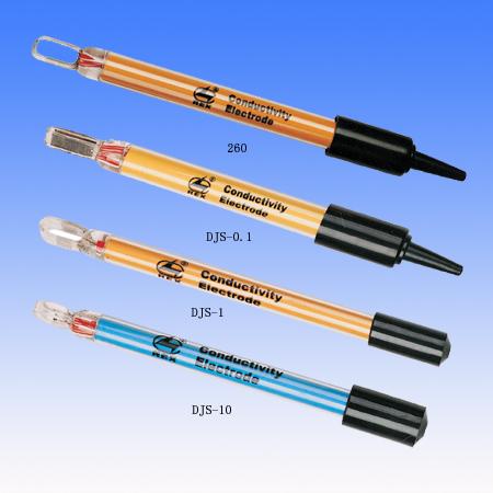 晶磁/盛磁DJS-0.1铂电导电极测量范围0.2-200.00uS