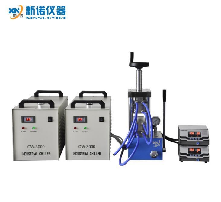 新诺牌 RYJ-600CG型 双平板高温型热压机,500℃