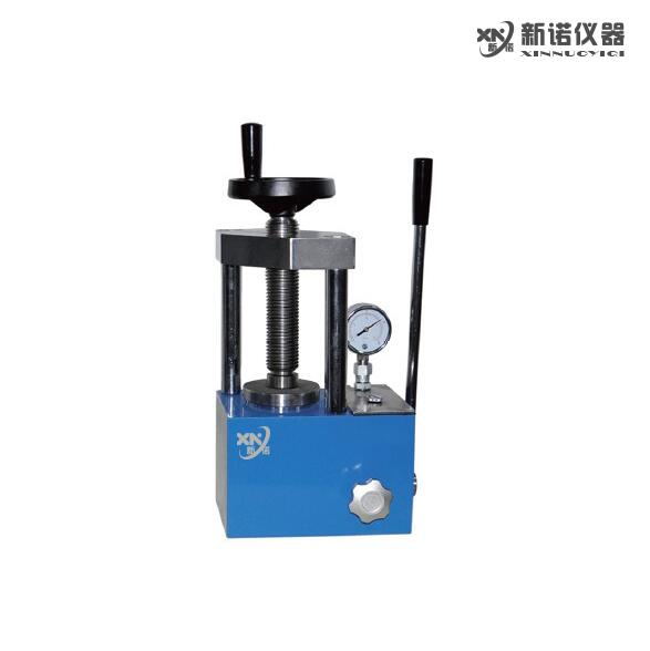 新诺 SYP-5B型手动粉末压片机 两柱 粉末压片机 5吨压